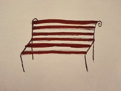 Bench (Sparrowhawk 23) Tags: bench