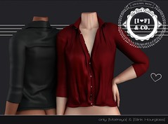[I<3F] Blouse [01] (Ainadara Resident) Tags: i3fco bishbox maitreya slink hourglass blouse shirt exclusive