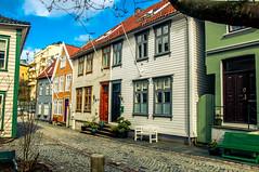 Bergen Street (Tony Shertila) Tags: 20170416112100 cruise europe pig bergen hordaland norway street house architecture nor