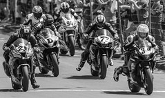 F1 Super Bike start, Cemetery Circuit, Whanganui, New Zealand - 26/12/16 (Grumpy Eye) Tags: nikon d7000 nikkor 300mm 28 22 toby summers d michael dunlop 94 mitch rees 77 jamie maindonald 34 daniel mettam 55 jayden carrick cemetery circuit wanganui whanganui boxing day start