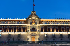 Palacio Nacional (takashi_matsumura) Tags: ciudaddeméxico mexico palacio nacional zócalo df city ngc nikon d5300 night architecture sigma 1750mm f28 ex dc os hsm