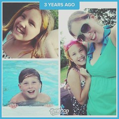 Three years ago today: a fun, perfectly summery pool day 🌞🏊 #Timehop (Jenn ♥) Tags: ifttt instagram