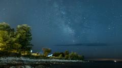 Milchstraße am Strand von Medulin (clearfotografie) Tags: fujixt2 fujinionxf1855mm longexposure langzeitbelichtung night nacht nachthimmel milchstrase milkyway stars sterne kroatien croatia