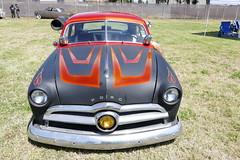 1950 Ford (bballchico) Tags: 1950 ford shoebox custom hoodlum joshuavalles carshow santamariaca