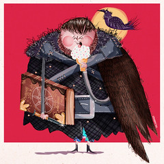 """Samwell enjoying a bit of ice cream and a book! """"Hot Winter is... (fannie.bowater) Tags: funny quotes message sayings signs"""