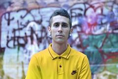 untitled (sarahmu.) Tags: graffiti graffito boy polo nike street streetart art shoot photoshoot spraypainting painting