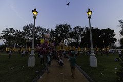 Memorial dedicated to King Norodom Sihamoni (Keith Kelly) Tags: asia cambodia kh kampuchea kingnorodomsihamoni phnompenh royalpalace seasia southeastasia aroundtown capital city dedicated evening memorial park sunset ព្រះរាជឱង្កោព្រះបាទនរ ព្រះរាជឱង្កោព្រះបាទនរោត្តមសីហនុ