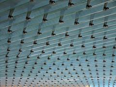 Dotted Glas (Ed Sax) Tags: glas fassade ed sax fluchtpunkt grün fenster hamburg freeandhansatownofhamburg photokunst photoart kunstphotographie berlinertor