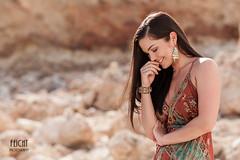 Franzy auf Ibiza (Feicht Photography) Tags: ibiza eivissa modelshooting coaching worksshop profimodel verträumt lächelnd sommerkleid sommer sonne summer insel felsen rocks lächeln feichtphotography