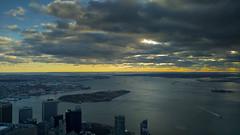 cloudy (igorotak!) Tags: lgv10 lg v10 clouds sky sun sunset ny river buildings pointshoot mobile phonephotography phonecamera city skyline newyork nyc