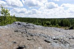 Stone (jannaheli) Tags: suomi finland lappeenranta ylämaa mättö nikond7200 luontovalokuvaus naturephotography kesä summer sunny sunnyday luonto nature maisema landscape quarry louhimo stone kivi kallio rock spectrolyticmining spektroliittikaivos
