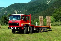 Fiat 180 NC (Falippo) Tags: fiat iveco 180nc aite autocarro camion carrellone lorry truck lkw truckmeeting truckvintage oldtimertruck camionitaliani camionstorici valsugana trentino