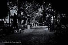 Night Street (`ARroWCoLT) Tags: nightscene canon700d t5i niftyfifty 50mm streetphotography sokak people blackwhite bw art insan human arrowcolt monochrome bnwdemand bnwpeople bnw bnwstreet ishootpeople blackandwhite outdoor primelens silence izmir dikili denizköy türkiye turkey night gece