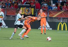 47241940 (roel.ubels) Tags: voetbal vrouwenvoetbal soccer europese kampioenschappen european championships sport topsport 2017 tilburg uefa nederland holland oranje belgië belgium
