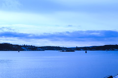 Oslo - Norway (Sir Thomas of Rigsby) Tags: norway oslo lake sky water landscape
