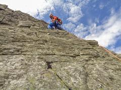 Snowdonia Scrambling (Hill Explorer) Tags: snowdonia scrambling glyderfach