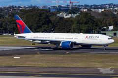 N701DN DL B77L 25 YSSY-1356 (A u s s i e P o m m) Tags: mascot newsouthwales australia au delta dl boeing b77l syd yssy sydneyairport