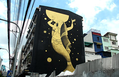 graffiti and streetart in bangkok (wojofoto) Tags: graffiti streetart bangkok thailand wojofoto wolfgangjosten mural fikos