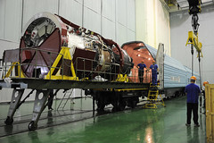 Soyuz 736/MS-05 spacecraft fuelled and ready for Exp 52/53 launch (europeanspaceagency) Tags: paolonespoli esa nasa roscosmos expedition5253 baikonurcosmodrome soyuzms05 fuelling vita