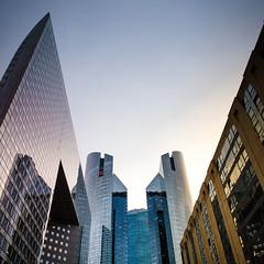 La Défense business quarter (Zeeyolq Photography) Tags: architecture buildings city ladefense paris puteaux îledefrance france fr