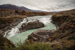 Cascada Paine (chasingthelight10) Tags: events photography travel landscapes mountains nature rivers waterfalls places chile paineriver cascadapaine patagonia torresdelpaine otherkeywords
