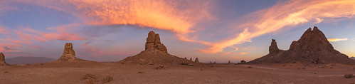 More Fire In the Sky At the Trona Pinnacles