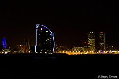BCN skyline (Mateu Tomas) Tags: hotelvela barcelona torreagbar torremapfre catalunya skyline