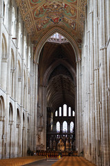 The nave of Ely Cathedral (Richard Holland) Tags: ely elycathedral medieval medievalarchitecture churchinterior gothic architecture