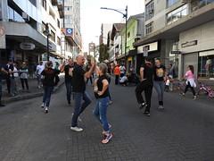 Rota de Lazer em Blumenau com bom público.