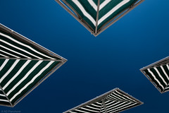 Shades (Anthony P26) Tags: abstract art category kemer places shapeslines travel turkey parasole shade canopy sky blueskies bluesky blackandwhite pattern shapes lines angles rightangles canon canon70d canon1585mm travelphotography beach metal square outdoor