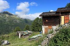 Val d'Annivers (bulbocode909) Tags: valais suisse mottec zinal valdanniviers montagnes nature arbres forêts nuages paysages chalets raccards mayens vert bleu