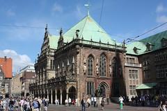 Altes Rathaus Bremen (Helgoland01) Tags: bremen unesco rathaus townhall welterbe deutschland germany