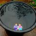 48/100 in 2017 - Joan and Ada fancied a swim (Explored) (amy's antics) Tags: wah wearehere floating bucket water joan ada rain wet garden 100xthe2017edition 100x2017 image48100 minime