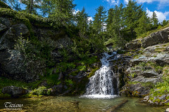 The house over the waterfall (Tiziano Photography) Tags: champorcher valledaosta waterfall house trees river water nikond750 d750 nikon landscape cascata ruscello alberi casa panorama acqua