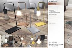 Sway's [Damien] Bedside Lamp | Uber (Sway Dench / Sway's) Tags: uber sways bed bedroom sleep cozy wood succulent lamp art sl virtual