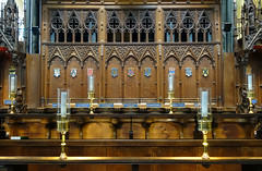Salisbury Cathedral, choir stalls