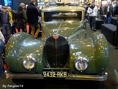 Bugatti Type 57 SC Atalante 1937 (fangio678) Tags: retromobile paris 09 02 2017 french francaise bugatti type 57 sc atalante 1937 voiture voituresanciennes ancienne collection cars classic coche oldtimer youngtimer