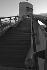 (duméphotos) Tags: manche france fr architecture architectureurbaine ouvrage dart noir et blance bridge water river black white bw nb graphique graphic
