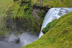 Skógafoss waterfall (breic) Tags: iceland skogar skógafoss waterfall