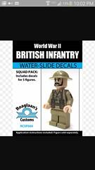 great deal on brickmania . 1 dollar decals (benhardy5) Tags: lego brickmania decal sticker