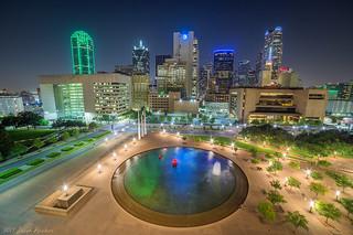 City Hall Dallas Rooftop