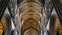 Salisbury Cathedral, 19th century roundels