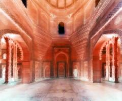 India - Uttar Pradesh - Fathepur Sikri - Jama Masjid - 57d (asienman) Tags: india uttarpradesh fathepursikri jamamasjid asienmanphotography asienmanphotoart