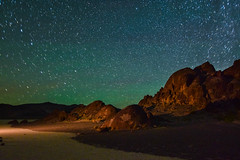 Teal Sky over  the Playa (Gooch Photography) Tags: desert california startrail stars astrophotography deathvalley