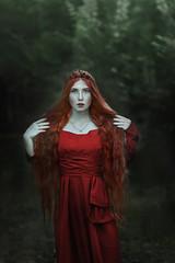 Persephone (forestfairyhelena) Tags: persephone hadesandpersephone portrait redhair amazing pretty face beautiful