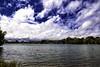 Rickmansworth Aquadrome (Jonathan Goddard1) Tags: pentax k1 sky clouds water lake aquadrome rickmansworth hertfordshire blue trees boat boats sailing sails reflections buoy