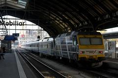 Voralpen Express - St. Gallen (imartin92) Tags: stgallen switzerland sob südostbahn railway railroad passenger voralpenexpress vae train re456 locomotive