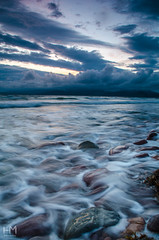 Kerry 29Jul2017 1-2 (Helen Mulvey) Tags: kerry ireland rossbeigh sunset dusk lowlight seascape coast atlantic movement sea ocean water