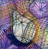 Transpearantly Negative (molossus, who says Life Imitates Doodles) Tags: zentangle zentangleallaround negativeshapes tutorial mixedmedia