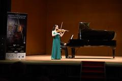 Iria Fernández, violinsta del VII Festival Peregrinos Musicales